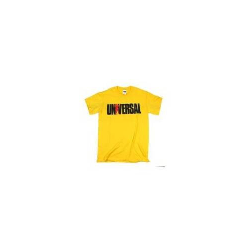"Universal Nutrition Universal T-Shirt ""Universal"" (Farbe: Gelb)"