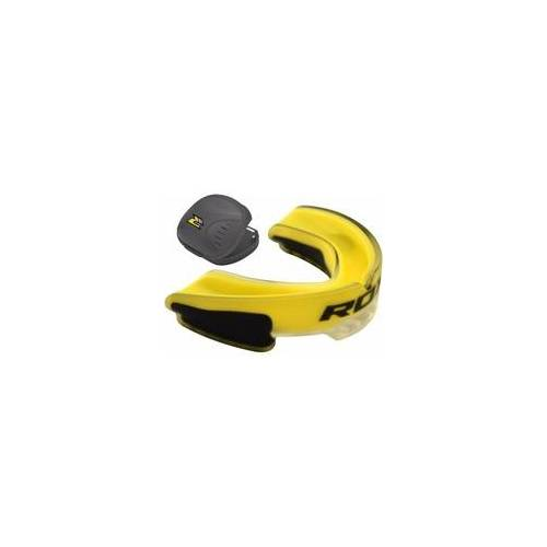 RDX 3Y Gelb Mundschutz (Größe: Kinder, Farbe: Gelb)