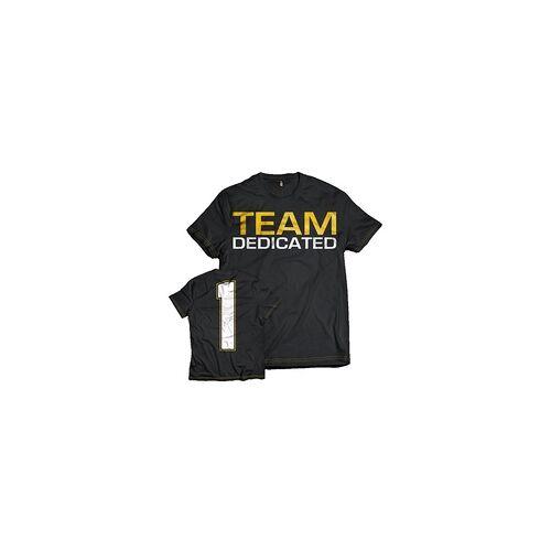 "Dedicated T-Shirt ""Team Dedicated"" (Größe: M)"