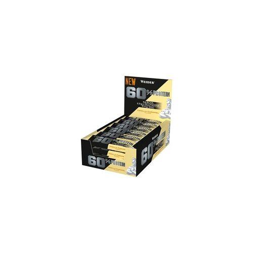 Weider 60% Protein Bar 24x45g (Geschmack: Vanilla Caramel)