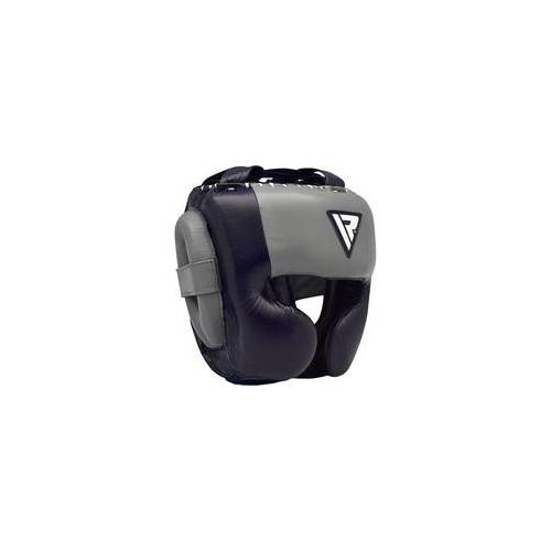 RDX O1 Sparring Kopfschutz für Profis (Größe: L, Farbe: Blau)