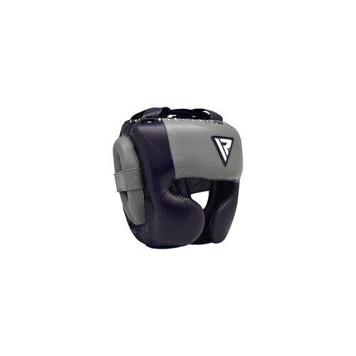 RDX O1 Sparring Kopfschutz für Profis (Größe: S, Farbe: Blau)