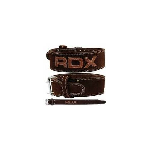 RDX 4PN Brauner 10mm Gewichthebergürtel (Größe: XL, Farbe: Braun)