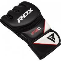 RDX F12 MMA Trainingshandschuhe (Größe: L, Farbe: Schwarz)