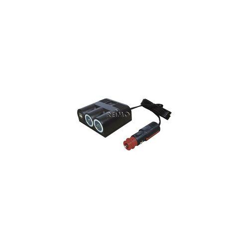 Pro Car Power Dreifachsteckdose USB