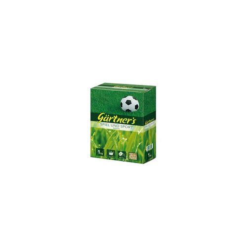 Gärtner's Gärtner´s Spielrasen und Sportrasensamen1 kg Rasensamen