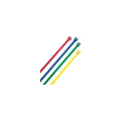 Heidemann Kabelbinder farbig sort. 150x3,6mm,100St.Heidemann