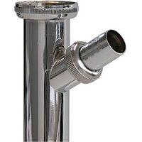 "Sanitop-Wingenroth Verstellrohr / Abw. Schl.chrom 1 4"" X 200 mm"