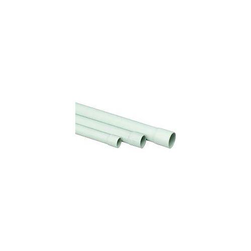 REV Ritter Stangenrohr PVC, 2 m EN 25 mm, grau