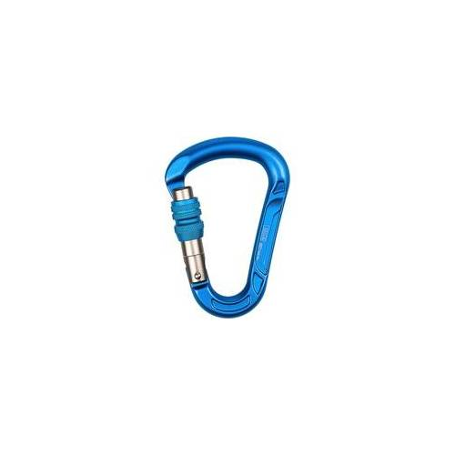 LACD HMS RB Screw Karabiner blue