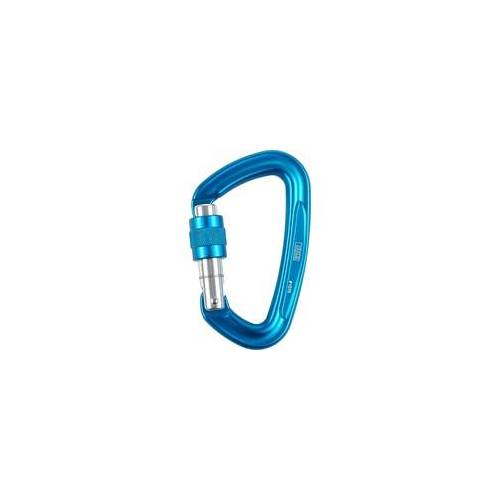 LACD D-Screw Karabiner blue