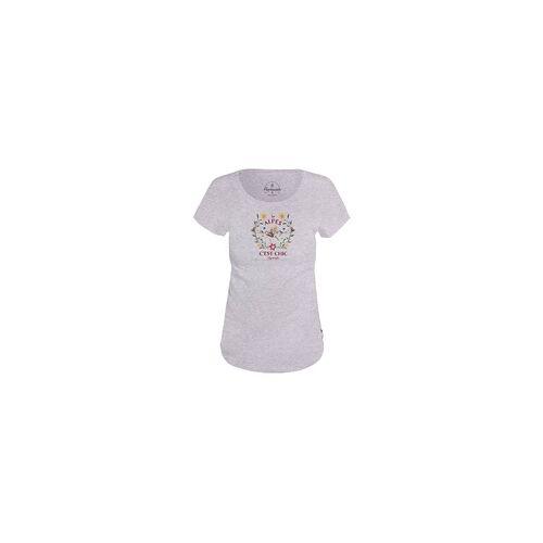 +alprausch Alprausch C´est chic Damen T-Shirt grey melange
