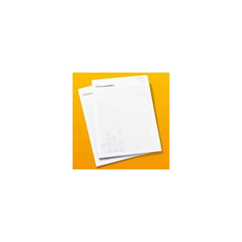 onlineprinters.de 50 Blöcke drucken   DIN A4   je 50 Blatt   80 g/m² Offsetpapier   Leimbindung