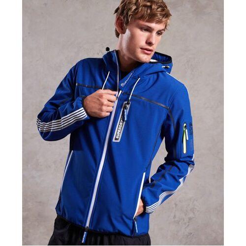 Superdry Polar Team Sport Trakker Jacke S blau