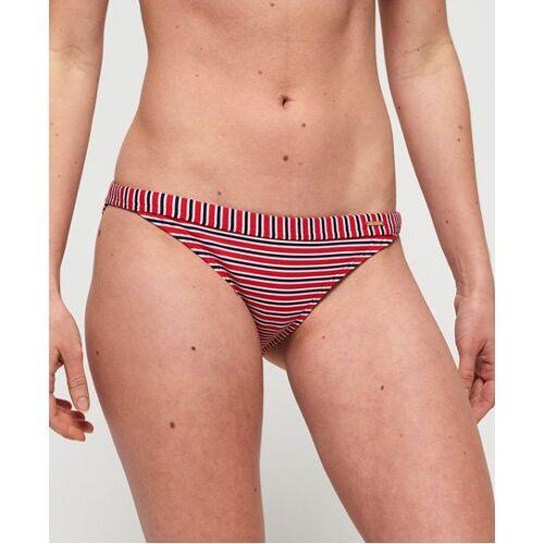 Superdry Kasey Fixed Bikinihose 38 rot