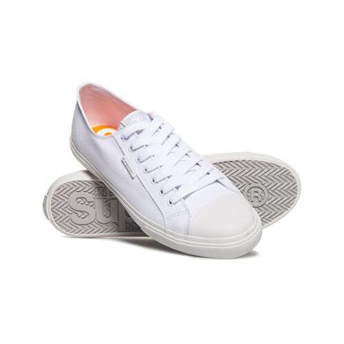 Superdry Low Pro Sneaker 46 weiß