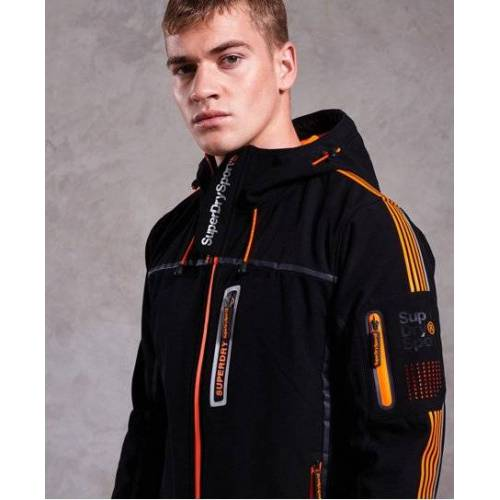 Superdry Polar Team Sport Trakker Jacke XS schwarz