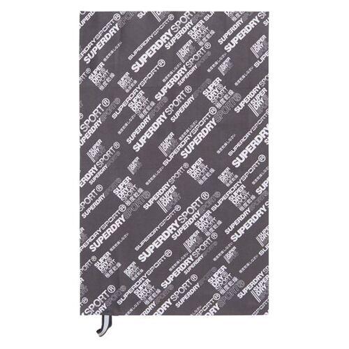 Superdry Sports Handtuch aus Mikrofaser 1SIZE grau