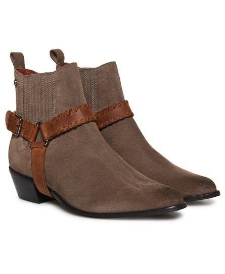 Superdry Carter Chelsea Boots 36 hautfarben