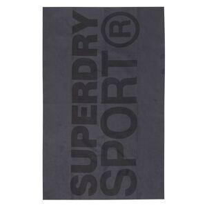 Superdry Sport Handtuch aus Mikrofaser 1SIZE grau