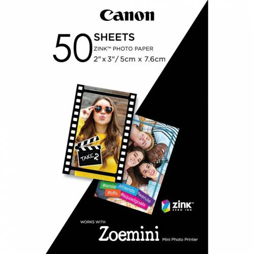 Canon ZINK Fotopapier (50 Blatt) Papier-