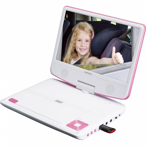 Lenco DVP-910 Rosa Tragbarer DVD-Player