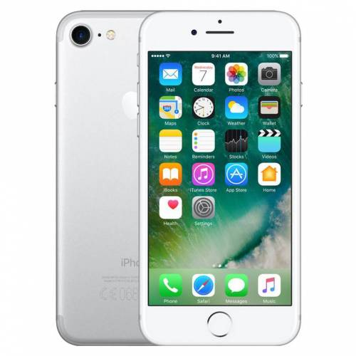 Renewd Refurbished iPhone 7 32GB Silber Refurbished Handy