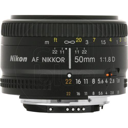 Nikon AF-D 50 mm f/1,8 Kameraobjektiv