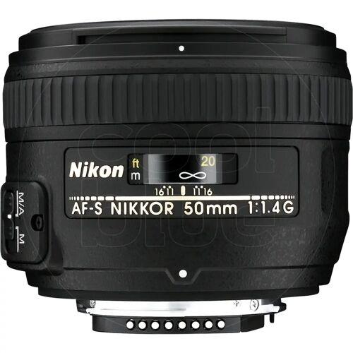 Nikon AF-S 50 mm f/1,4G Kameraobjektiv