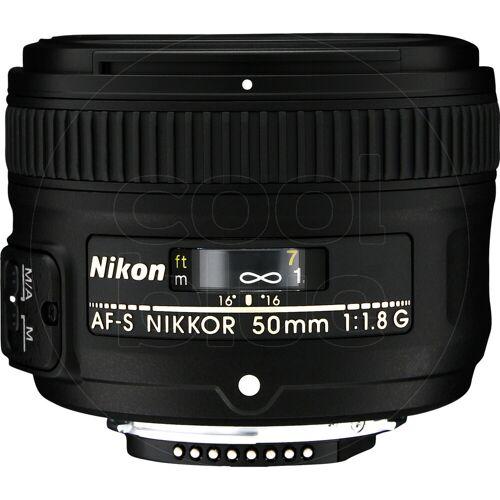 Nikon AF-S 50 mm f/1,8G Kameraobjektiv