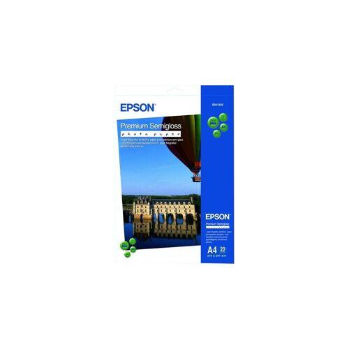 Epson Premium Semigloss Fotopapier 20 Blatt (A4) Papier-