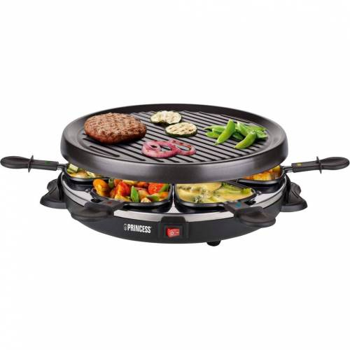 Princess Raclette 6 Grill Party 162725 Raclette-Grill