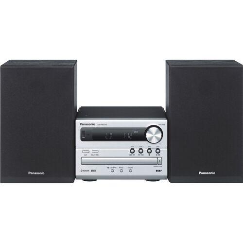 Panasonic SC-PM254EG-S Silber Stereoanlage