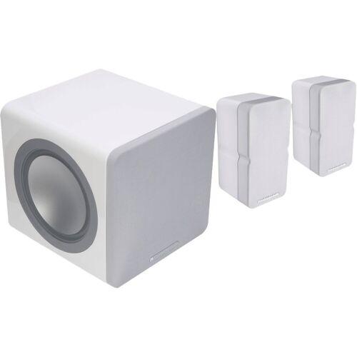 Cambridge Audio Minx Min 22 2.1-Set Weiß HiFi-Lautsprecher