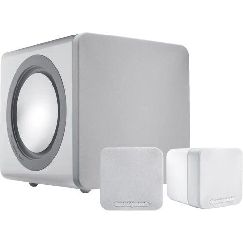 Cambridge Audio Minx 2.1 Set Weiß HiFi-Lautsprecher