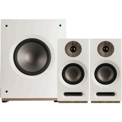 Jamo S 803 2.1-Lautsprecher-Set Weiß HiFi-Lautsprecher