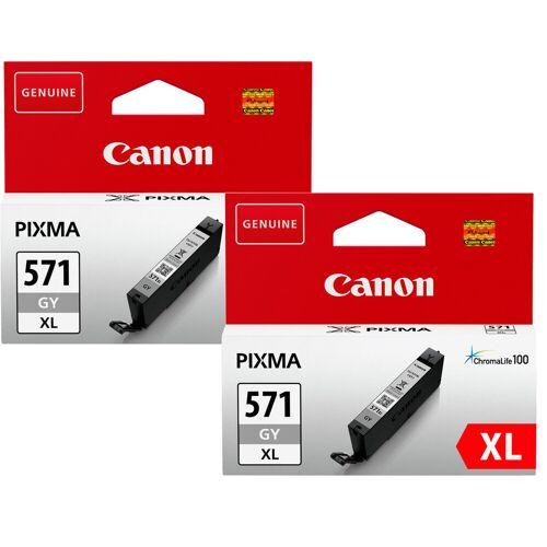 Canon CLI-571XL Patronen Grau Duo Pack Patrone