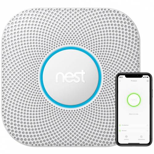 Google Nest Protect V2 Batterie Rauchmelder