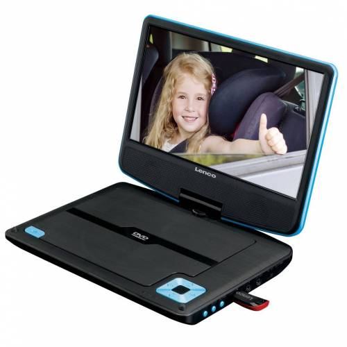 Lenco DVP-920 Blau Tragbarer DVD-Player