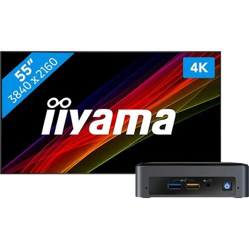 IIYAMA LFD-Monitor für Narrowcasting LFD-Monitor