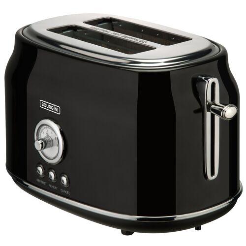 Bourgini Retro Toaster Black Toaster