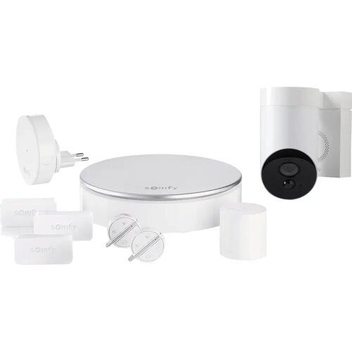 Somfy Protect Home Alarm + Outdoor Camera Weiß Alarmanlage