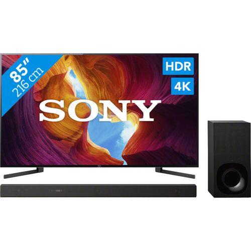 Sony KD-85XH9505 + Soundbar Fernseher