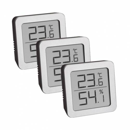 TFA Thermo-Hygrometer 3er Pack Hygrometer