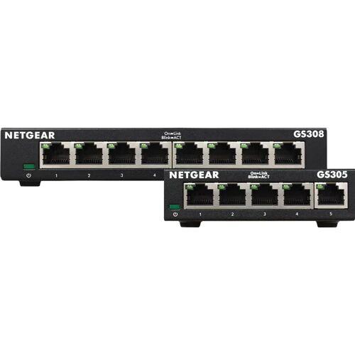 Netgear GS308 v3 + Netgear GS305 v3 Switch