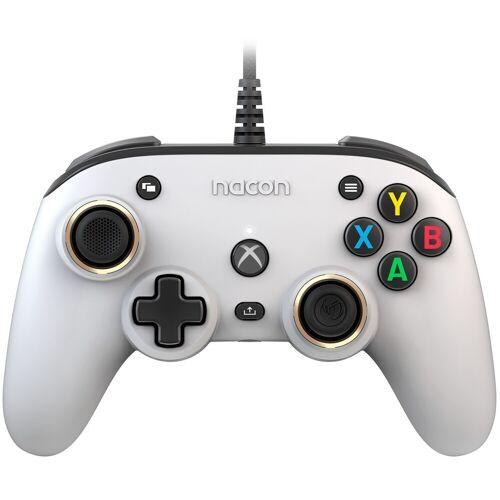 Nacon Xbox X Pro Compact Controller Weiß Controller
