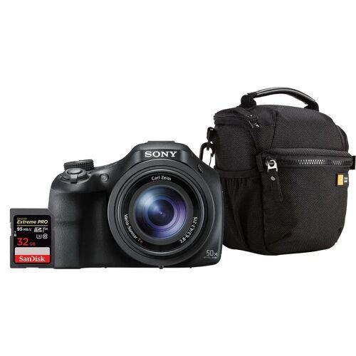 Sony Starterset CyberShot DSC-HX400V Kompaktkamera