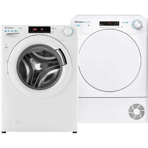 Candy Smart CS 147TXME/1-S + Candy Smart CSO C7DF-S Waschmaschine