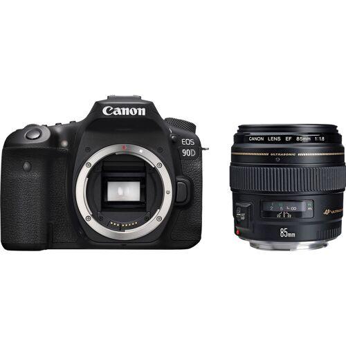 Canon EOS 90D + EF 85 mm f/1.8 USM Spiegelreflexkamera