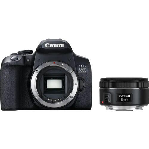 Canon EOS 850D + EF 50 mm f/1.8 STM Spiegelreflexkamera